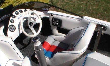Interior of Ultima X Skiboat